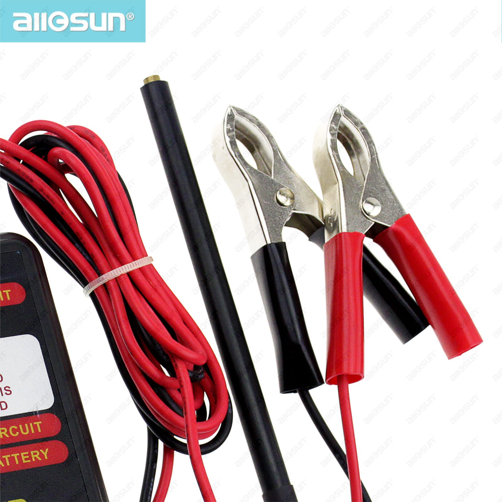 All Sun Em271 Glow Plug Analyser Measurement Analysis Instrument Current Clamp Circuit Analyzers Automotive Electrical Tester In Gas From Tools On