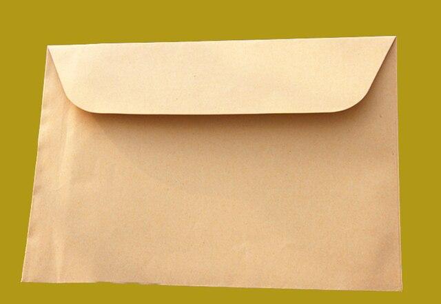 Aliexpress buy 100pcslot 324x229cm kraft paper big envelope 100pcslot 324x229cm kraft paper big envelope for a4 document greeting card m4hsunfo