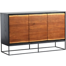 Sideboards Boxwood with Metal-Frame-Feet/85cm High-X-136cm-Length X45cm-Width 10x-Pack