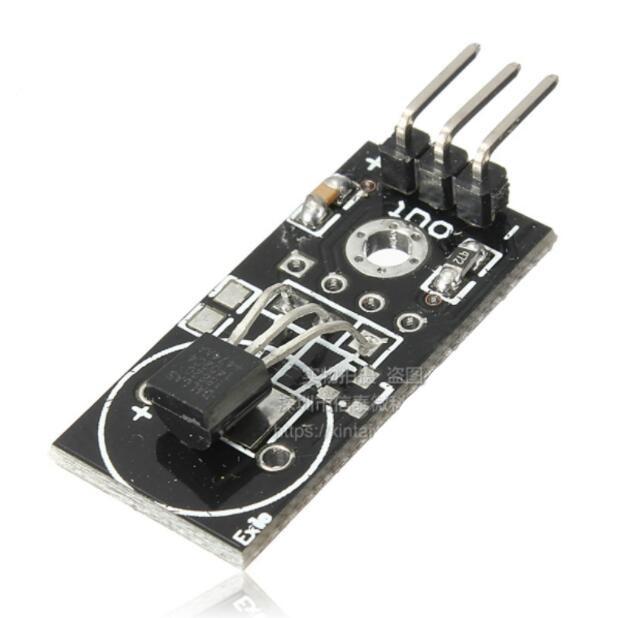 5pcs DS18B20 Module / Single Bus Digital 18B20 Temperature Sensor / Electronic Building Blocks