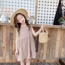 Baby Princess Dress 2019 New Girls Plaid Dress Kids Sundress Children Cotton Dress Kids Dresses For Girls
