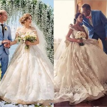 kejiadian Custom Made Lace Princess Wedding Dresses Vintage
