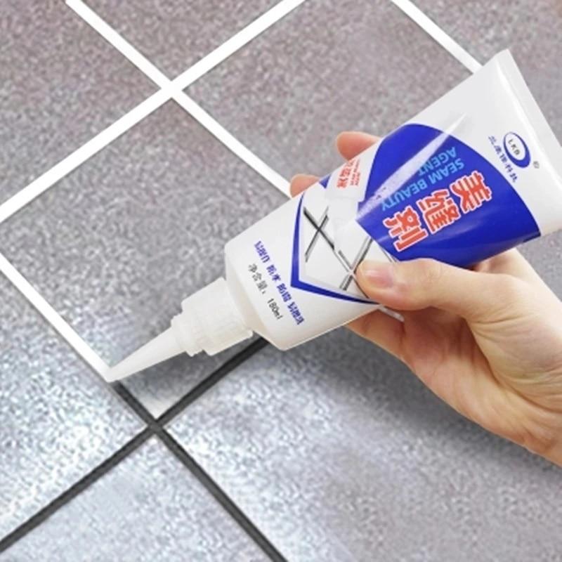 180ml tile grout repair squeeze gap repair agent repair pen floor floor scratches filler sealant construction tool