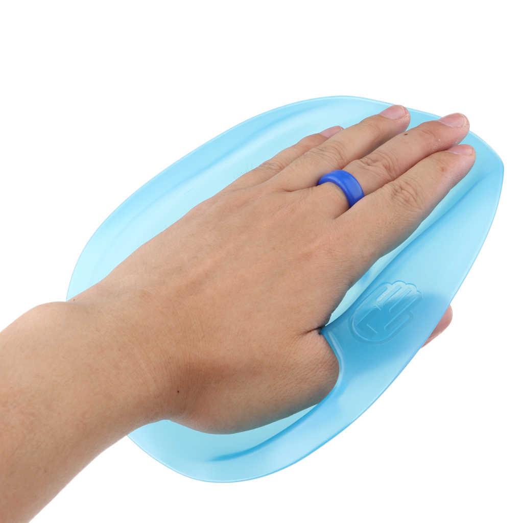 1 זוג מקצועי שחייה משוטים עם יד ההנעה רצועת יד קרומי כפפות Padel למשלוח גברים נשים ילדים ללמוד לשחות הילוך