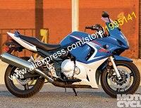 Лидер продаж, индивидуальные GSX650F 08 09 10 11 12 13 тела комплект для Suzuki GSX650F части 2008 2013 Синий Белый мотоциклов комплект обтекатель