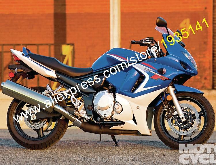Горячие продаж,индивидуальные GSX650F 08 09 10 11 12 13 обвеса для Suzuki GSX650F части 2008-2013 синий белый мотоцикл обтекатель комплект