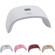 SUN9x 18W UV LED Lamp Nail Nail Dryer Machine For White Light 9Pcs UV LED Light Curing UV Gel Nail Gel Polish Free Shipping