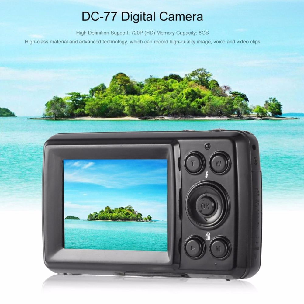 16MP 4X Zoom High Definition Digital Video Camera Camcorder 2.4 Inches TFT LCD Screen 8GB Auto Power-off 5 0mp cmos digital video camcorder w 4x digital zoom usb av sd red 2 4 tft lcd