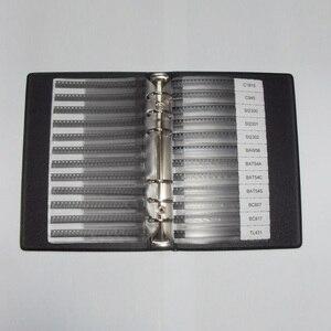 Image 2 - Набор для выборки SMD транзисторов для ежедневного использования, 36 ценностей, 25 шт. = 900 шт. триодов, разные комплекты, S9012 SS8050, bab70 2N5551, SI2300, BAT54A, TL431 и т. д.