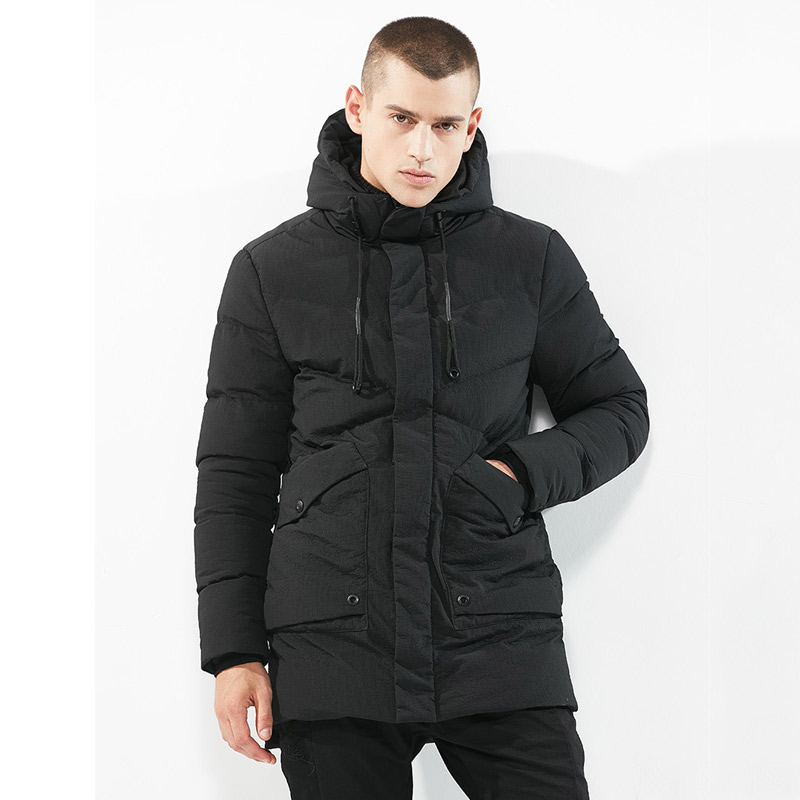 56aa7d80ced 2019 Men S Russia Winter Jacket Mens Warm Casual Brand Parkas With ...