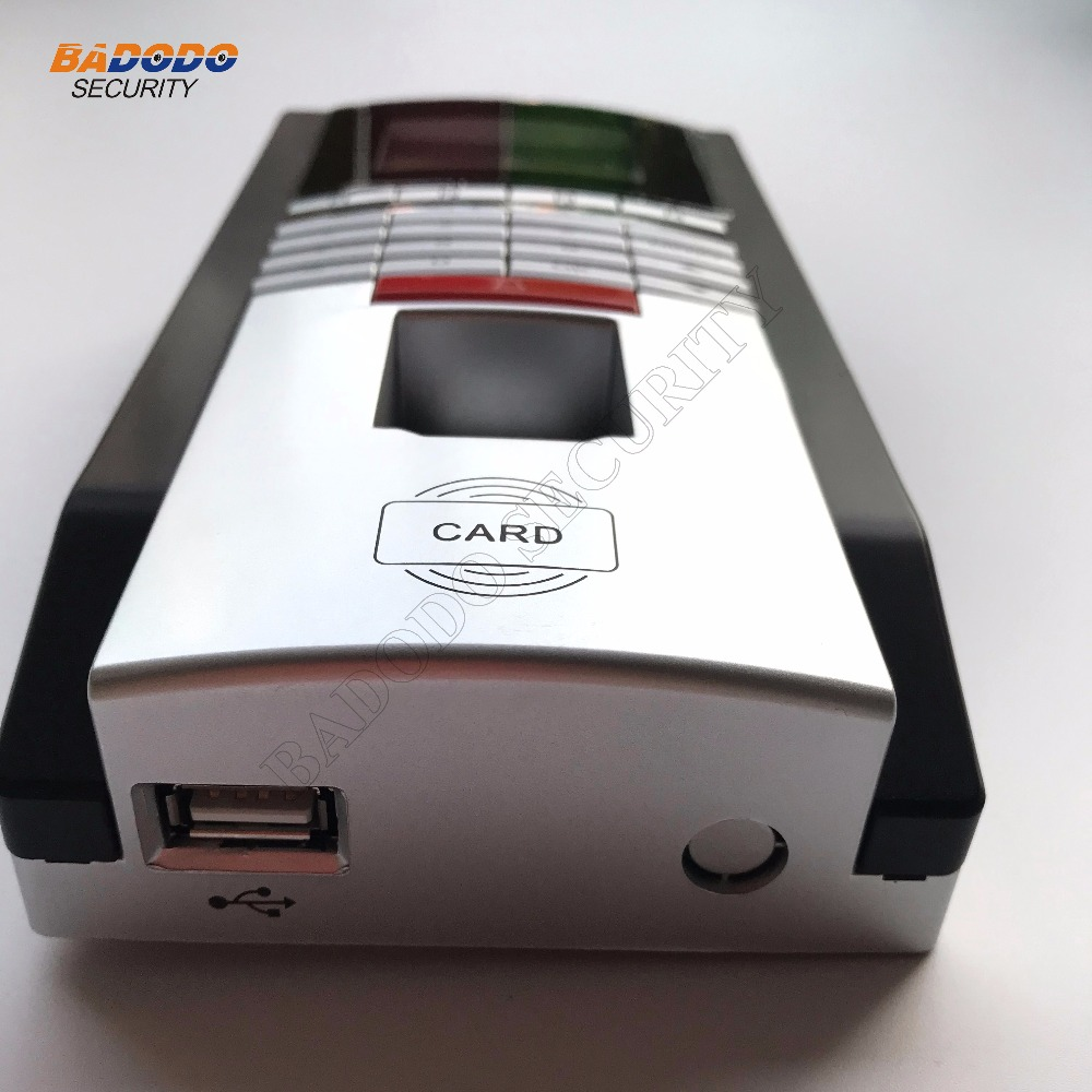 ZD2F20 Biometrische Fingerabdruck Teilnahme Zeit-uhr Und Zutrittskontrolle Mit TCP/IP + sabotagealarm + über zeit türöffnung alarm