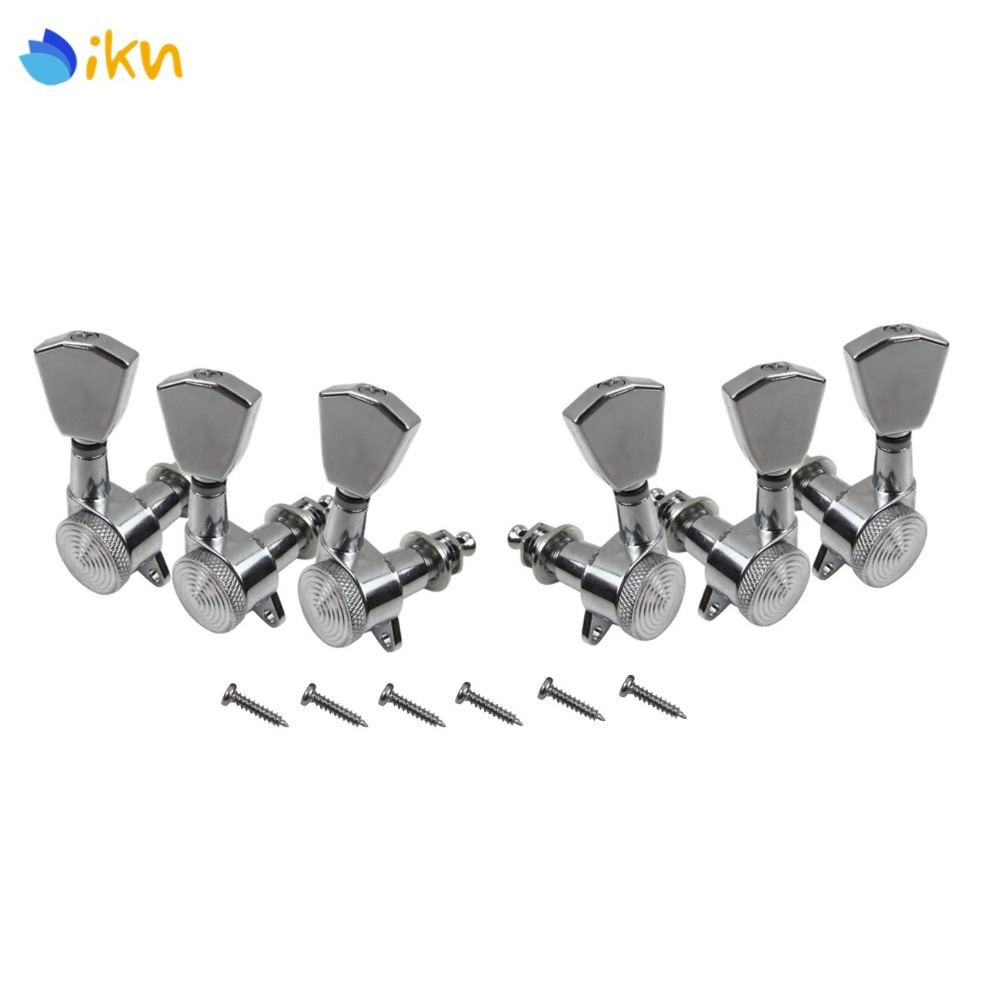 buy new 6pcs auto lock electric guitar tuning pegs tuning keys machine heads. Black Bedroom Furniture Sets. Home Design Ideas