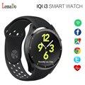 Iqi lemado i3 smart watch android 5.1 google maps coração taxa de Pulso Pedômetro G-sensor de Wifi GPS para Android telefone PK LEM5
