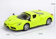 15 Cm 1/32 Skala Sport Mewah Mobil Mainan Paduan Logam Enzo Pembalap Tangan Kembali Diecasts Kendaraan Model Mainan untuk Anak anak-anak Koleksi
