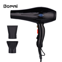 4000W Professional Hair Dryer Salon Blue Light Negative Ion Powerful Fast Blow Dryer Hot Cold Wind