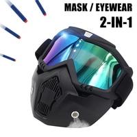 Airsoft Pistol Protective Mirror Christmas Gift Kid Toy Gun Equipment Mask Eyewear Airsoft Air Gun Protect