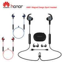 Huawei Honor xSport AM61 Senza Fili di Bluetooth del Trasduttore Auricolare del Magnete di Disegno All'aperto di Sport auricolare per Huawei Compagno di 20 Pro P30 P30 Pro