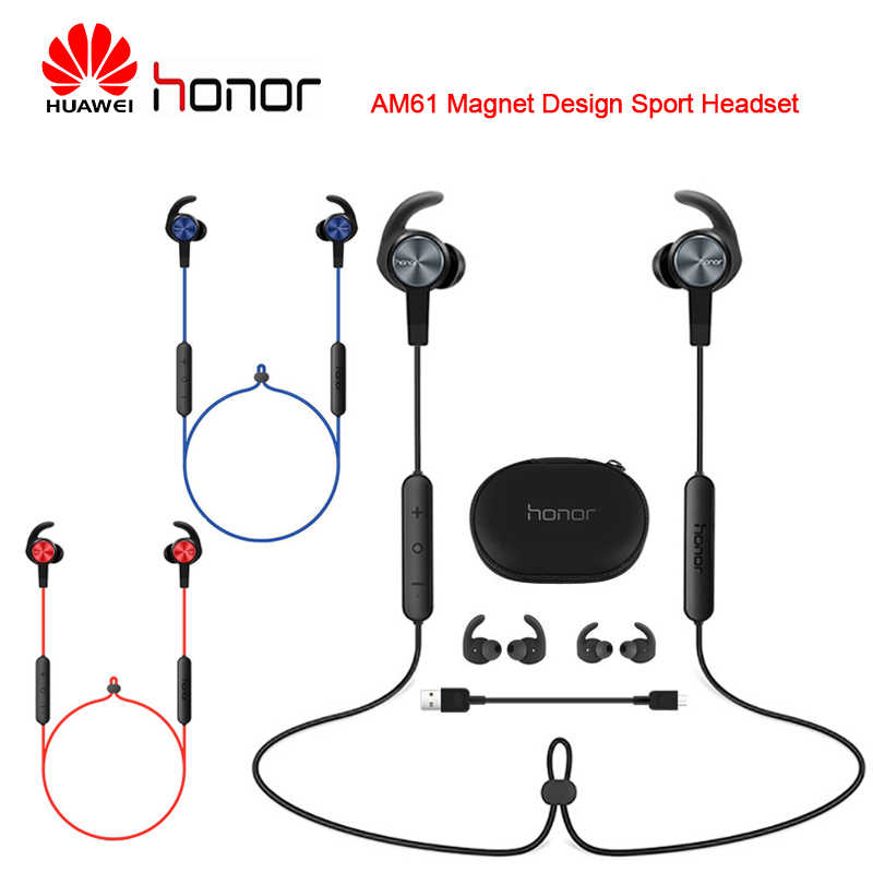 Huawei 社の名誉 xSport AM61 Bluetooth ワイヤレスイヤホンマグネットデザイン屋外スポーツヘッドセット huawei 社メイト 20 プロ P30 P30 プロ