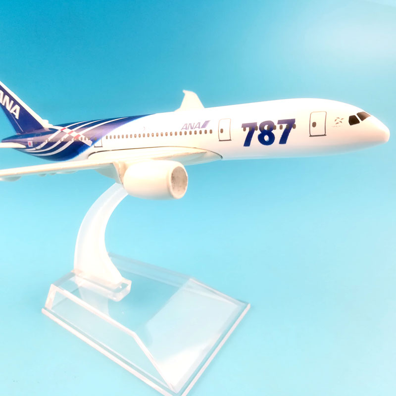 Image 3 - FREE SHIPPING 16CM  BOEING 787 ANA  METAL ALLOY MODEL PLANE AIRCRAFT MODEL  TOY AIRPLANE BIRTHDAY GIFT-in Diecasts & Toy Vehicles from Toys & Hobbies