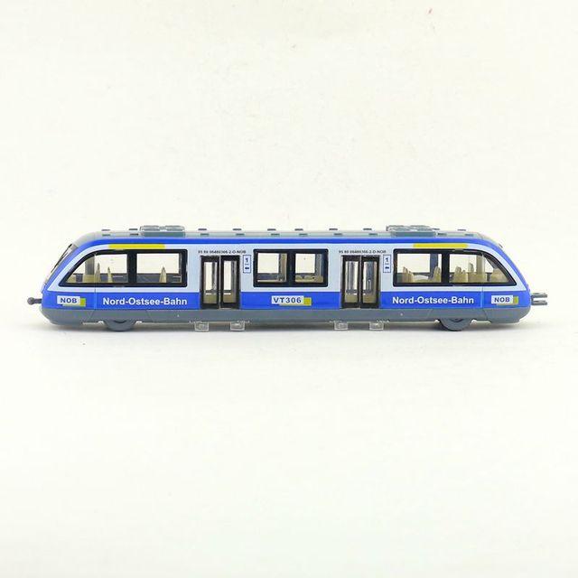 Zug Metro Auto Modell Spielzeug mit Sound & Light Rot/Gelb/Blau/Grün Legierung Sightseeing Tour Bus fahrzeuge Modell Pull Zurück für Geschenk