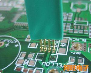 Image 1 - 1.27 4P STC Burning Needle Test Needle Write Program Probe 4 Feet Spring Needle 1.27mm 4P