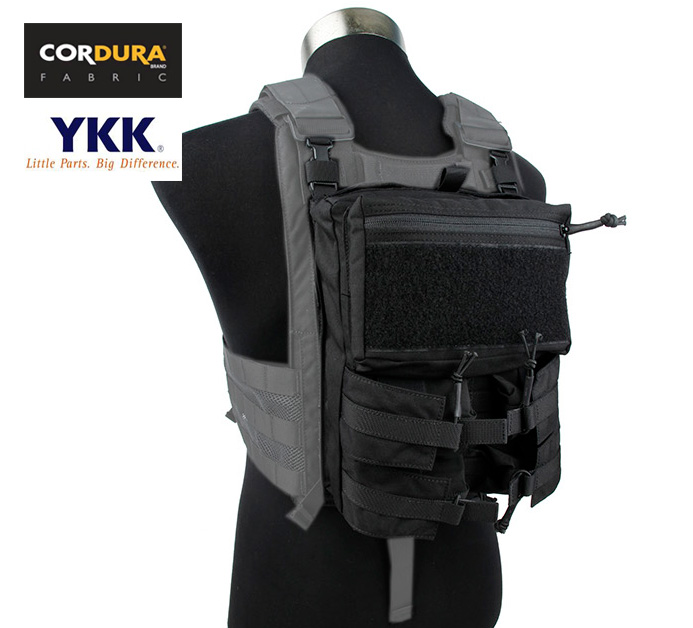 Assault Pack Back Panel Pouch For 4020 Plate Carrier Tactical Military Pack+Free shipping(XTC050962) voile panel string pouch design t back