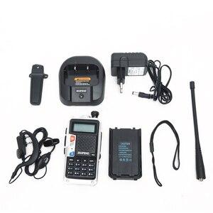 Image 5 - BAOFENG Walkie Talkie de 8W, banda Dual UHF/VHF, 10KM, largo alcance, batería gruesa, modo de carga múltiple, 2 uds., 2020