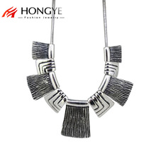 цены на Free Shipping Min Order $10 (Mix Order) Fashion Women Vintage Anti-Silver Metal Necklace Jewelry  в интернет-магазинах