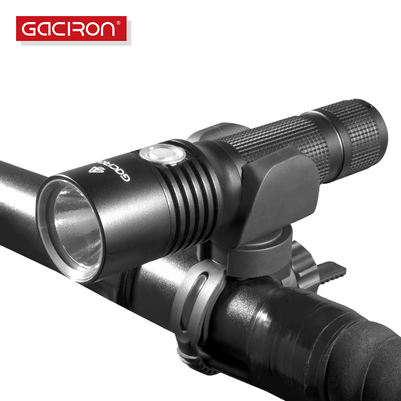 Gaciron USB Rechargeable bike light front Handlebar Cycling led lights 860 Lumens flashlight torch bicycle accessories цены онлайн