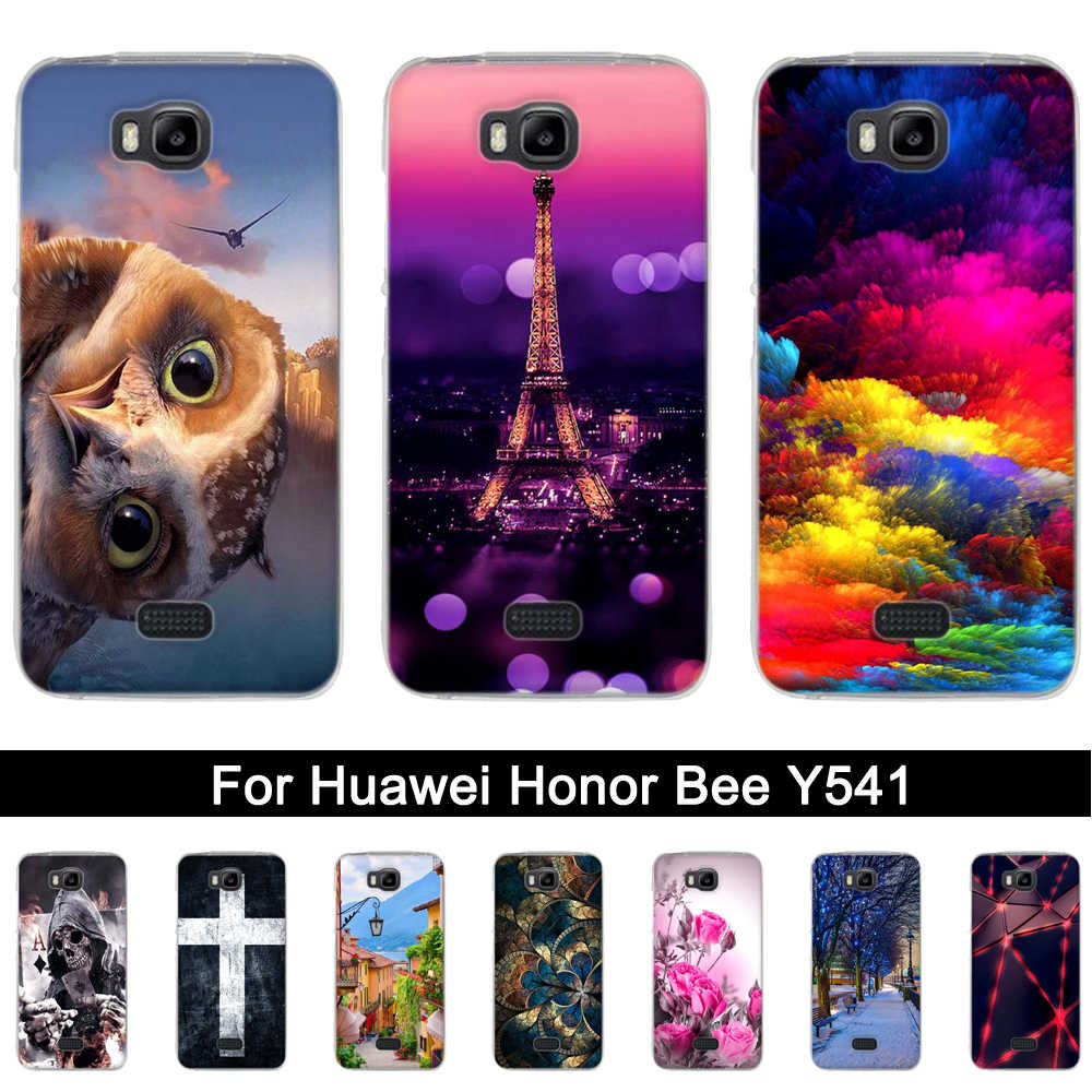 バックケース Huawei 社 Y5C TPU カバー Huawei 社の名誉蜂電話 Huawei 社 Y541 Y5C 名誉蜂 y541 y541-u02 シリコーンシェル