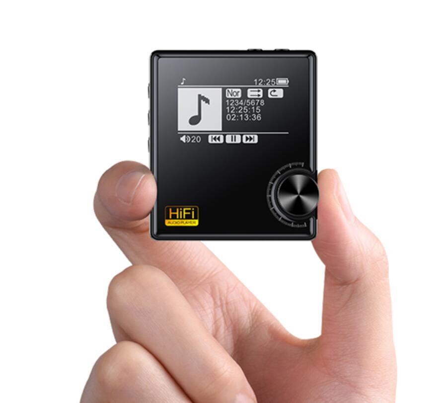 Finetop Bluetooth HiFi Lecteur Soutien MP3 WAV APE FLAC OGG AAC WMA jusqu'à 128G