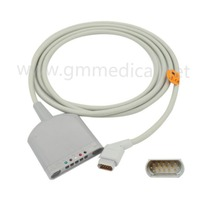 Compatible With Siemens SC9000 XL Multi link ECG Trunk Cable 5 Lead ECG Cable ( Spo2 , Temperature , ECG )