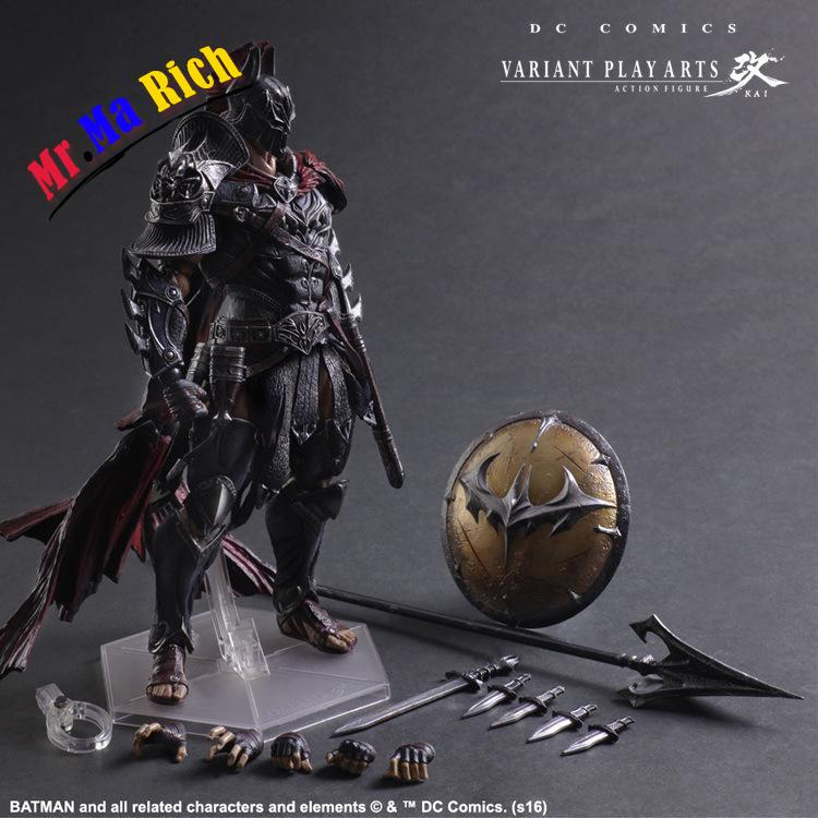 Batman Action Figure Play Arts Kai Sparda Pvc Toys 270mm Anime Movie Model Sparda Bat Man Playarts Kai Free Shipping gogues gallery two face batman figure batman play arts kai play art kai pvc action figure bat man bruce wayne 26cm doll toy