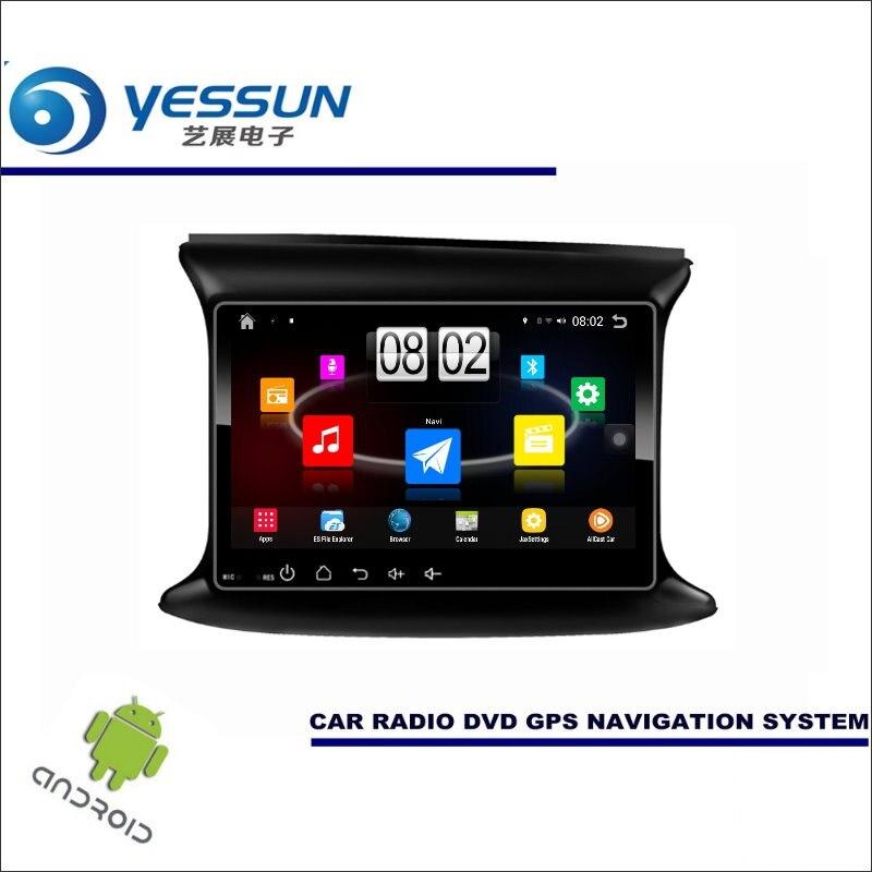 Yessun автомобиля Android мультимедийный плеер для Fiat Viaggio/Dodge Dart PF Радио стерео GPS nav Navi Географические карты (без CD DVD) 9 HD Экран