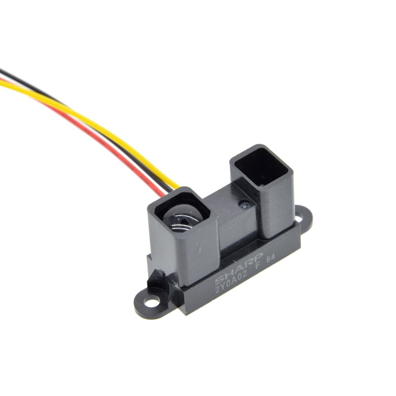 Image 4 - GP2Y0A710K0F 100% NEW SHARP 2Y0A710K 100 550cm Infrared distance sensor INCLUDING WIRES-in Integrated Circuits from Electronic Components & Supplies