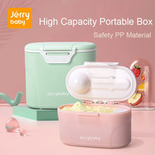 Baby Formula Milk Storage Infants Portable Milk Powder Formula Dispenser Food Container Storage Feeding Box for Kids Food PP Box(China)