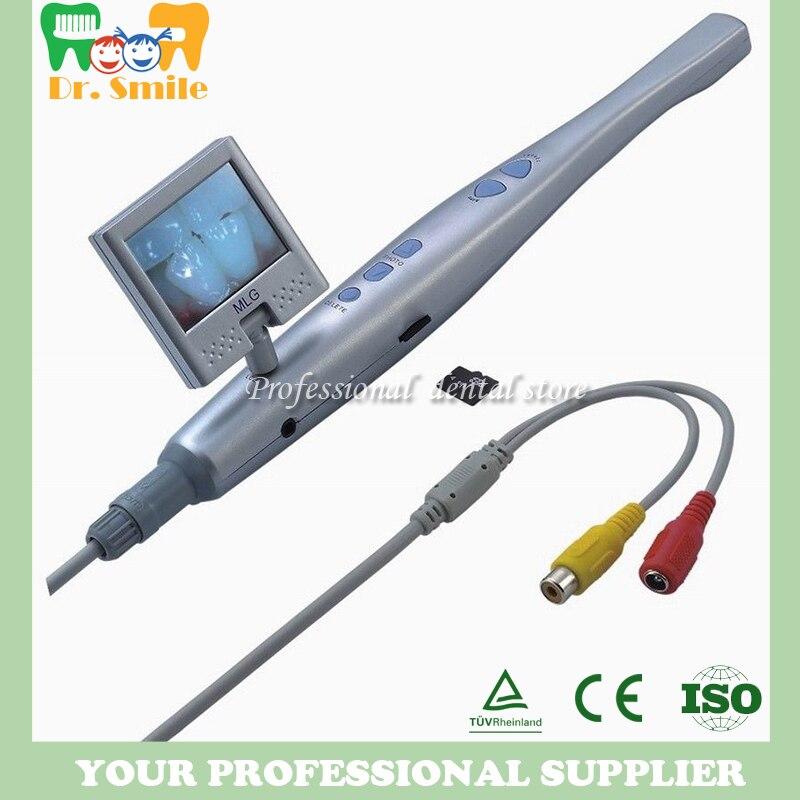 CF-986 de caméra intra-orale dentaire avec carte SD et 6 LEDS sans écran