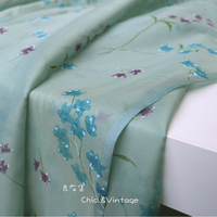 A Good Set Of Cloth Imported From Japan Advanced Garment Fabrics Of Silk And Cotton Wool