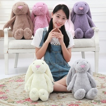 Toys Hobbies - Dolls  - 30/40/50/80cm Six Colour Lovely Plush Stuffed Placating Rabbit Toy  Gift For Baby Kid Children