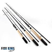 FISHKING 99 Carbon Soft Bait Lure Spinning Rod 2 1m 2 4m 2 7m 5 25G