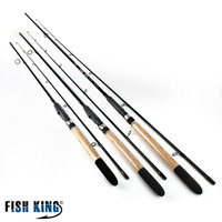 FISHKING 99 Carbon Soft Bait Lure Spinning Rod 2 1m 2 4m 2 7m 5 25G