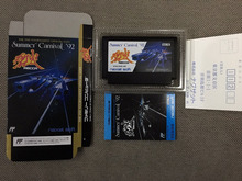 8bit cartão de jogo: carnaval de verão 92 92 (versão japão! Caixa + manual + cartucho!)