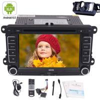 Android 6.0 Quad-core Din Đôi Car Stereo Auto Đài Car DVD Player GPS Nav 4 Gam/3 Gam Có Thể can-bus/External Mircophone/Backup Camera