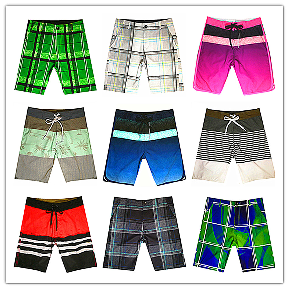 2019 Brand Phantom Men Beach   Board     Shorts   Swimwear Elastic Spandex Bermuda Boardshorts Masculina Quick Dry Mens Hawaiian   Shorts