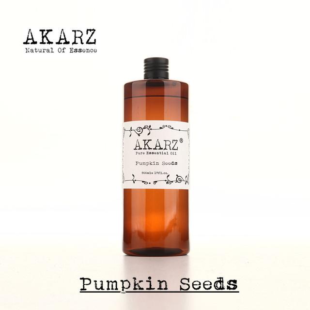 Akarz famosa marca natural puro óleo essencial de semente de abóbora natural aromaterapia alta-capacidade da pele cuidados com o corpo massagem spa