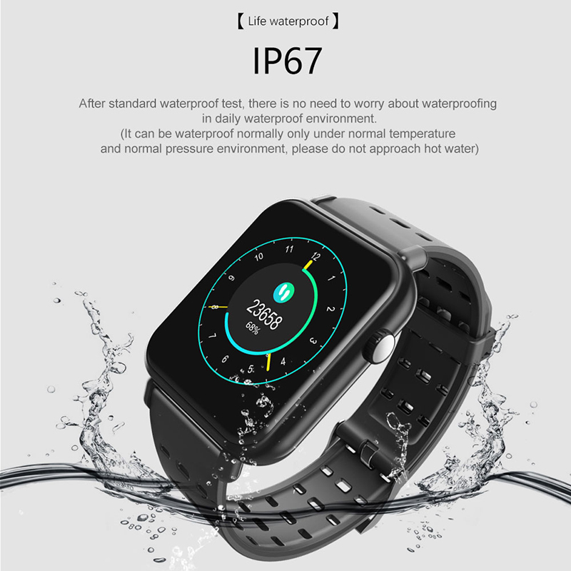 Y6Pro Smart Band Watch Color Screen Wristband Heart Rate Fitness tracker 1 3 inch TFT waterproof in Smart Watches from Consumer Electronics