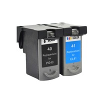 YLC 1set PG40 CL41 pg40 Compatible Ink Cartridge for Canon Pixma MP160 MP140 MP210 MP220 MX300 MX310 iP1800 iP2500 iP1600 iP1200
