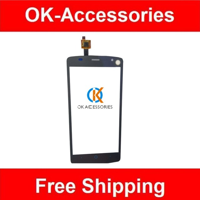 For ZTE Blade L5 Plus Touch Screen Digitizer Screen Black White Grey Color 10PCS/Lot High Quality