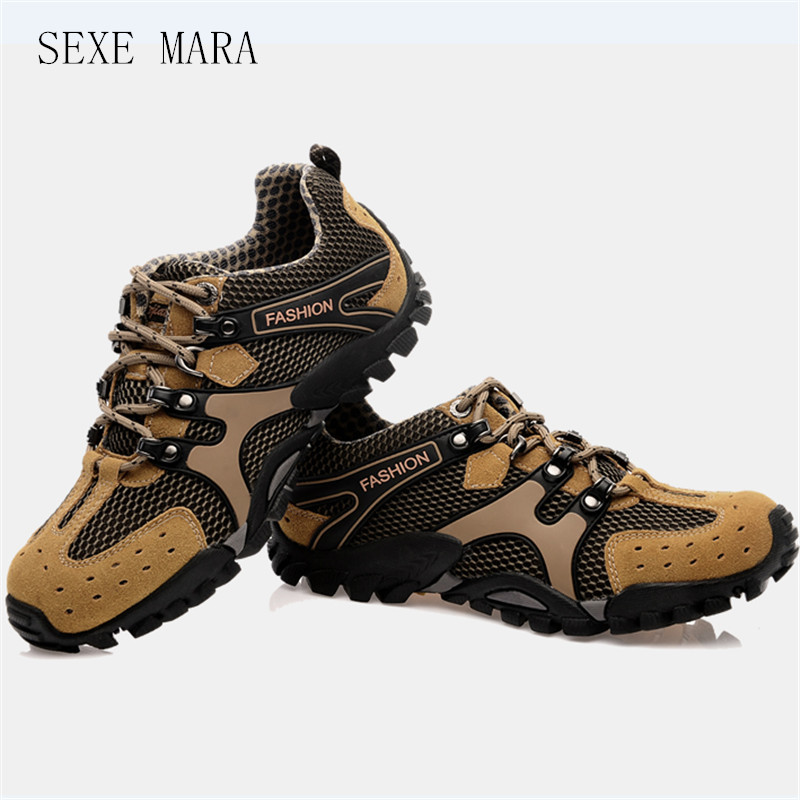 2017 new Sneakers Size 35-46 Outdoor Hiking shoes Sport shoes men and Women Climbing Trekking Shoes Breathable non-slip Off-road bolangdi 2017 new anti slip outdoor men hiking shoes high quality trekking camping shoes breathable lace up brand sport sneakers