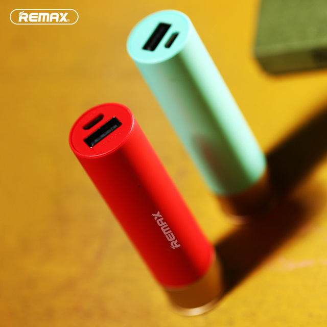 Remax Mini Mobile Phone Power Bank 18650 Powerbank 2500mAh Portable External Battery Charger for iphone 6 s for Xiaomi Poverbank